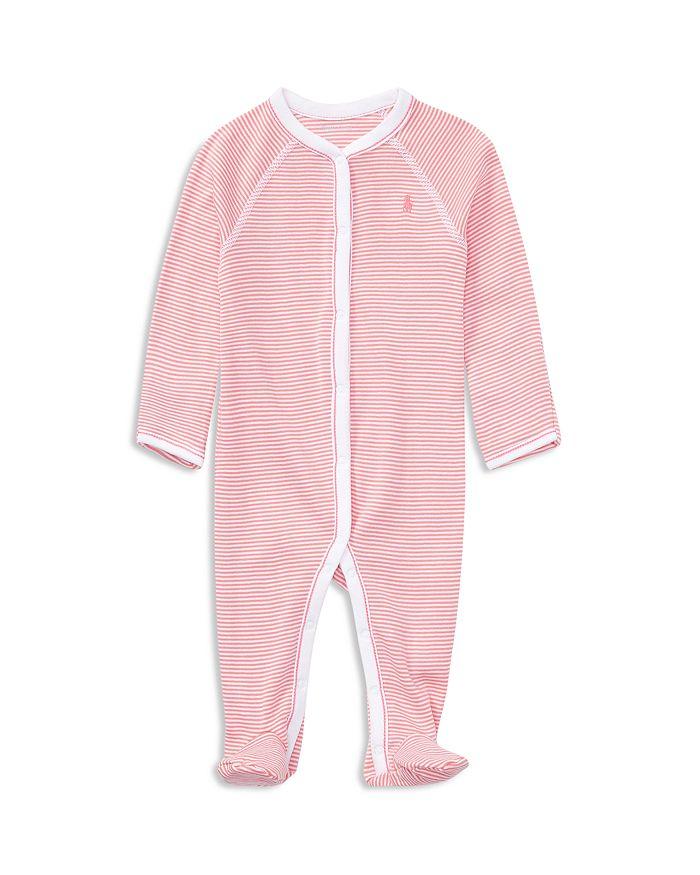 Ralph Lauren - Girls' Striped Footie - Baby