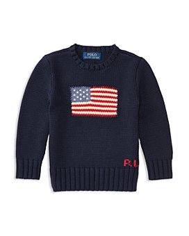 Ralph Lauren - Boys' American Flag Sweater - Little Kid