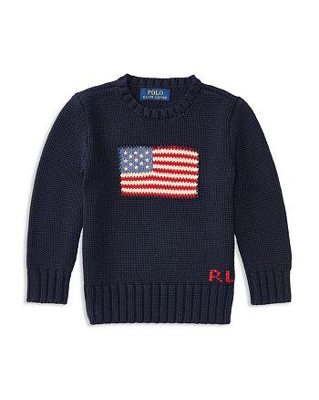 Ralph Lauren - Boys' American Flag Sweater - Little Kid