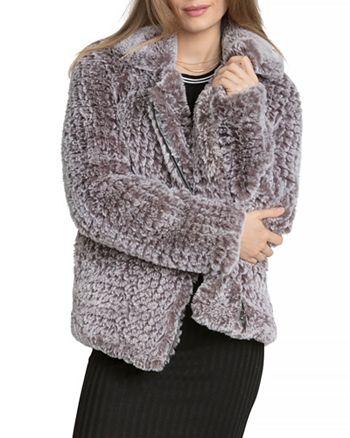 63628199bf38 Avec Les Filles Faux Fur Jacket | Bloomingdale's