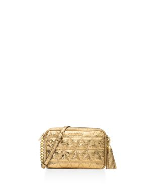 Michael Michael Kors Ginny Quilted Medium Leather Camera Bag