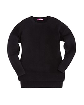 AQUA - Girls' Cashmere Sweater, Big Kid - 100% Exclusive