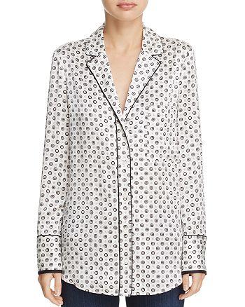 FRAME - Silk Pajama Shirt