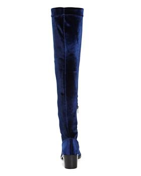 Sol Sana - Bianca Velvet Over-the-Knee Boots
