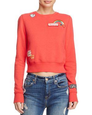 Rebecca Minkoff Graham Patched Sweatshirt