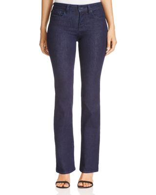 Petite Barbara Tummy-Control Bootcut Jeans in Rinse