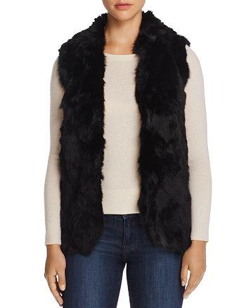 Adrienne Landau - Rabbit Fur Vest - 100% Exclusive
