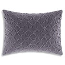 "Vera Wang Dégradé Damask Velvet Decorative Pillow, 12"" x 16"" - 100% Exclusive"
