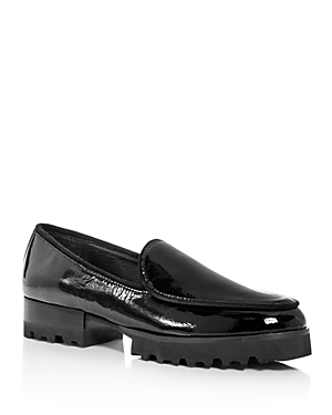 Donald Pliner Women's Elen Patent Leather Platform Loafers