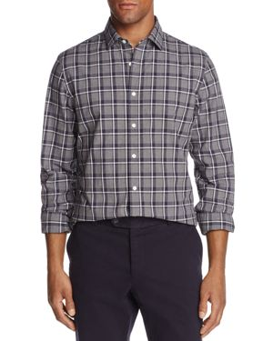The Men's Store at Bloomingdale's Tattersall Button-Down Regular Fit Shirt - 100% Exclusive 2662267