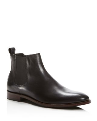 THE MEN'S STORE AT BLOOMINGDALE'S The Men'S Store At Bloomingdale'S Leather Chelsea Slip-On Boots - 100% Exclusive in Black