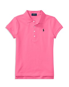 Polo Ralph Lauren Girls' Polo Shirt - Big Kid - Bloomingdale's_0