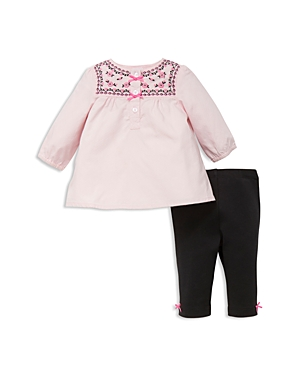 Little Me Girls Tulip Floral Tunic Set  Baby