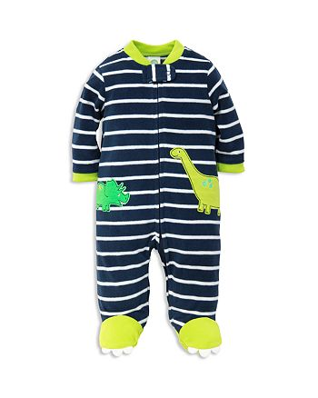 Little Me - Boys' Dino Microfleece Sleeper - Baby