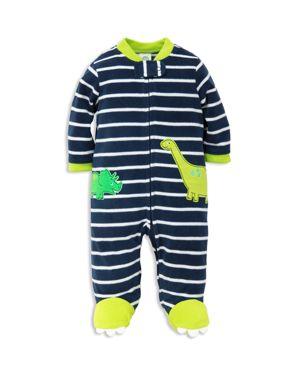Little Me Boys' Dino Microfleece Sleeper - Baby