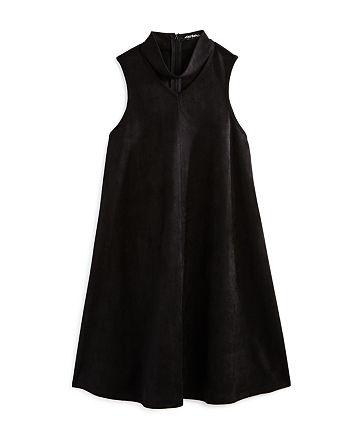 Miss Behave - Girls' Choker Trapeze Dress - Big Kid