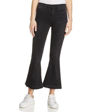 Frame Le Crop Flare Jeans in Garvey