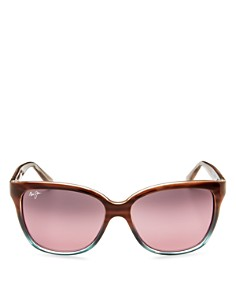 Maui Jim - Women's Starfish Rectangle Sunglasses, 56mm