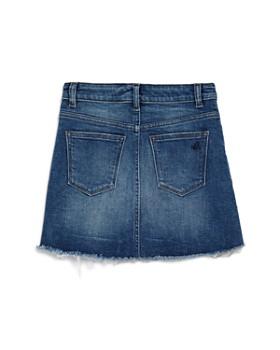 DL1961 - Girls' Frayed Denim Skirt - Big Kid
