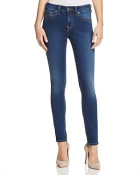 3a08af70a32 True Religion - Jennie Curvy Skinny Jeans in Lands End Indigo ...