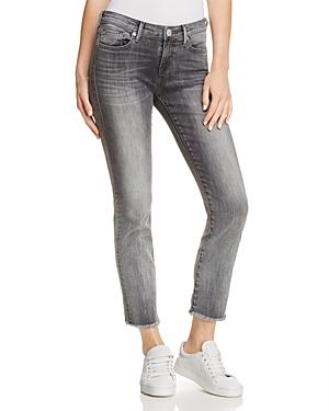 True Religion Sara Cigarette Crop Jeans in Eternal Grey