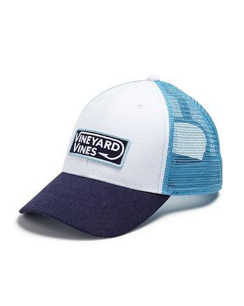 e2a58a70fd9 Vineyard Vines - Hook Patch Trucker Hat