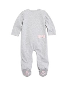 Bloomie's - Girls' Whiskers & Bows Footie, Baby - 100% Exclusive
