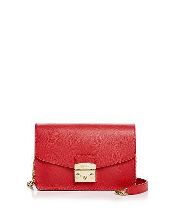 Furla - Metropolis Small Leather Shoulder Bag