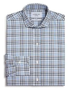 Ledbury - Multi Check Slim Fit Button-Down Dress Shirt