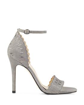 IVANKA TRUMP - Women's Helina Scalloped High-Heel Ankle Strap Sandals