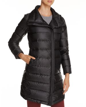 Cole Haan Zip-Front Down Coat