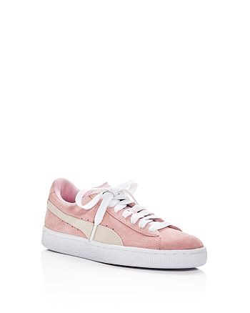 PUMA - Girls' Suede Lace Up Sneakers - Big Kid
