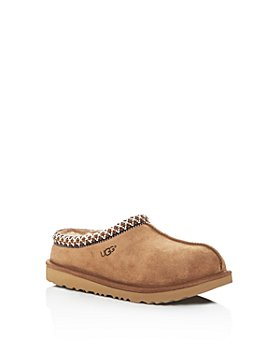 UGG® - Unisex Tasman II Suede Slippers - Little Kid, Big Kid