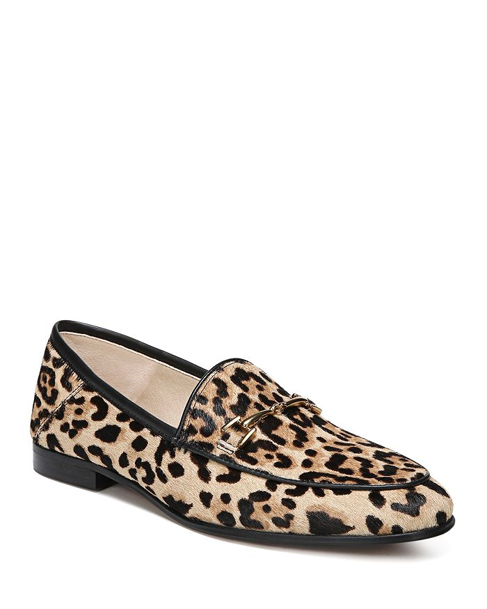 513617c80b4 Sam Edelman - Women s Loraine Printed Calf Hair Loafers