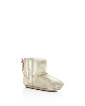 UGG® - Girls' Jesse Bow II Nubuck Leather Booties - Baby