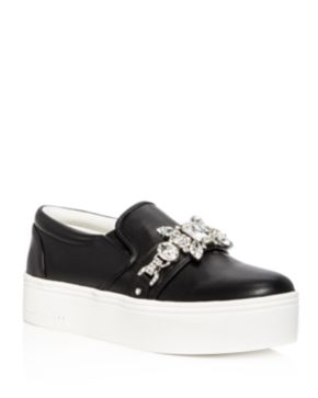 Marc Jacobs Embellished Platform Sneakers