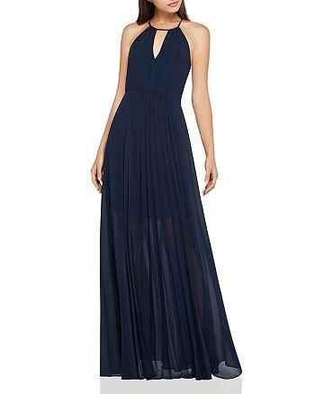 BCBGeneration - Crossover-Bodice Pleated Maxi Dress