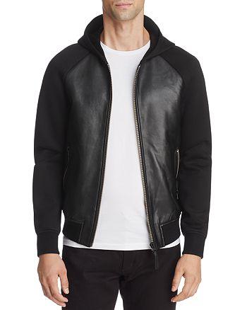 Mackage - Gibb Leather Combo Hoodie