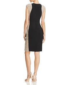 AQUA - Beaded Side Dress - 100% Exclusive