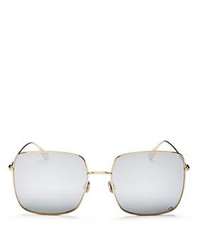 Dior - Women's Stellaire1 Mirrored Square Sunglasses, 59mm