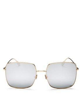 Dior - Women's Stellaire1 Mirrored Square Sunglasses, 59mm
