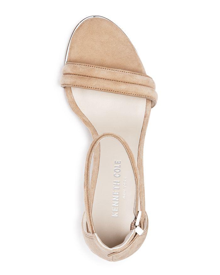 341be0af523 Kenneth Cole - Women s Lex Suede Ankle Strap Block Heel Sandals