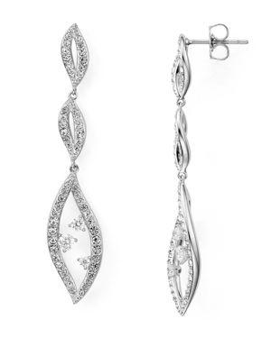 Nadri Calla Linear Drop Earrings