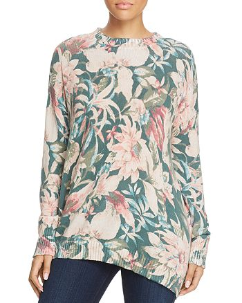 Show Me Your MuMu - Fireside Floral Print Sweater