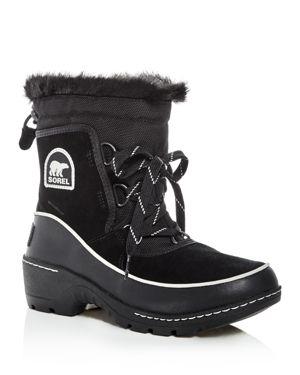 Sorel Women's Tivoli Iii Waterproof Suede & Faux-Fur Cold Weather Booties