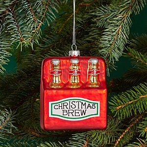 Bloomingdale's Glass Christmas Brew Ornament - 100% Exclusive