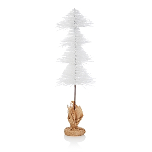 Bloomingdale's White Glitter Tree, 20 - 100% Exclusive