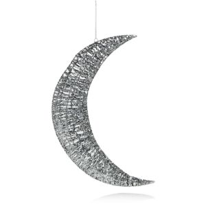 Bloomingdale's Silver Glitter Wire Moon Wall Ornament - 100% Exclusive