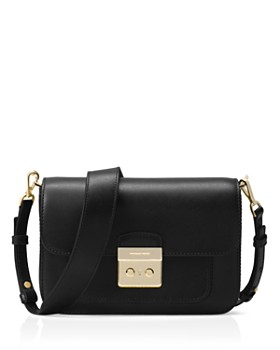 d308df2f62f1 MICHAEL Michael Kors - Sloan Editor Large Leather Shoulder Bag ...