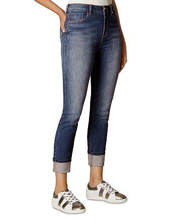 KAREN MILLEN - Faded Skinny Jeans